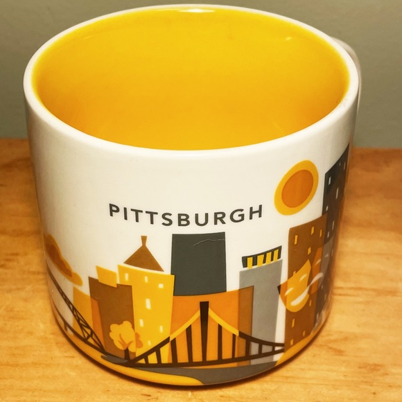 "Starbucks Pittsburgh, PA ""You Are Here"" Mug"